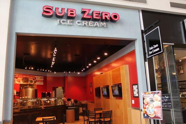 Sub Zero Ice Cream and Yogurt