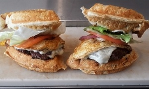 J&K Style Grill-Home of the Original Waffle Burger-