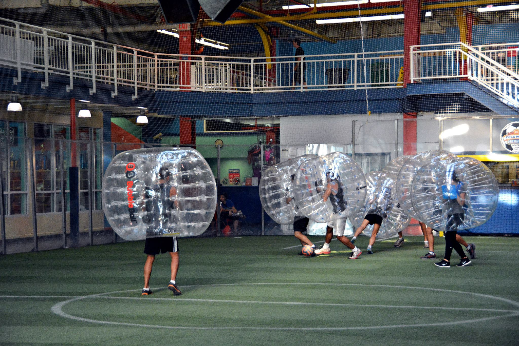 Bubble Ball Soccer NYC
