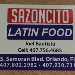 Sazoncito Latin Food