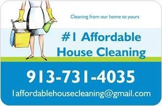 1 Affordable House Cleaning