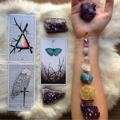 Psychic Eye Shop Palm & Tarot Readings