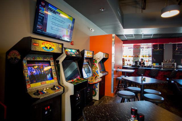 Joysticks Arcade Bar