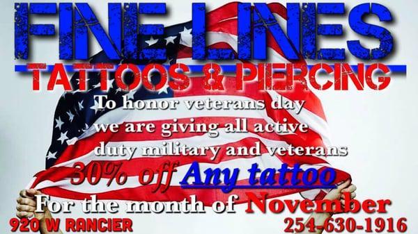Fine Lines Tattoos & Piercings