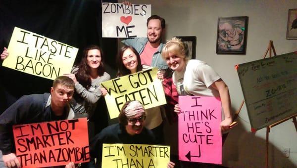 Zombie Room Escapes