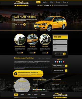 Millennium Taxi Yellow Cab