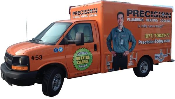 Precision Plumbing Heating and Cooling