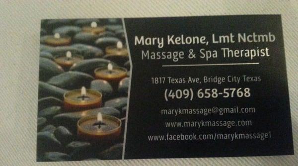 MaryK Massage