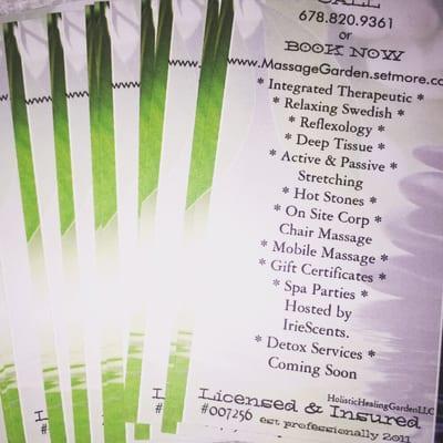 Holistic Healing Garden - Therapeutic Massage & Wellness Spa