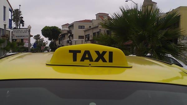 Taxi In Service