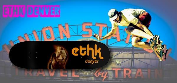 ETHK Skateboard