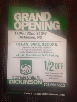Storage Units of Dickinson