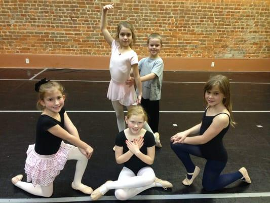 Fierce Motions In Dance