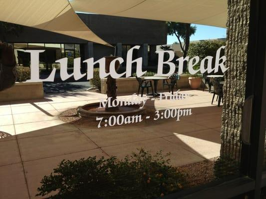 Supreme Lunch Break