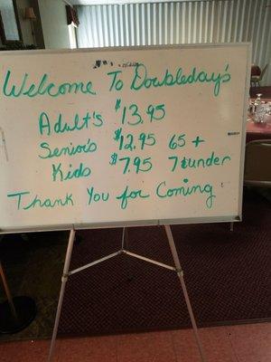 Doubleday's