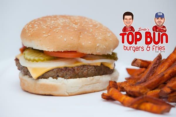 Sortos Top Bun Burgers & Fries