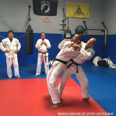 Royce Gracie Jiu Jitsu South Bay