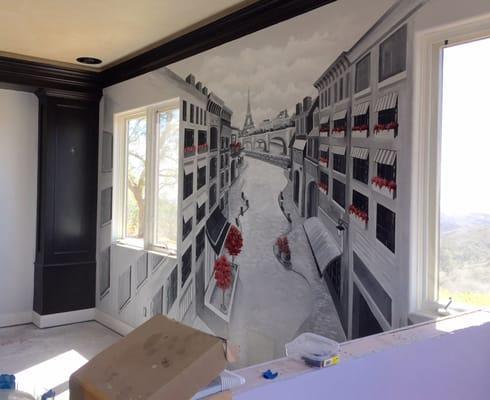 Jill Roberts Murals and Paintings