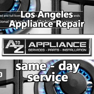 A to Z Appliance Repair Inc