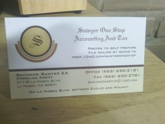 Sawyer One Stop Accounting And Tax