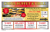 China Buffet And Grill