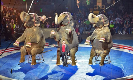 Al Kaly Shrine Circus - Presented by 'Jody Jordan'