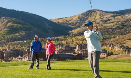 Canyons Golf