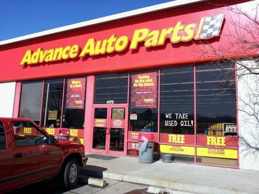 Advance Auto Parts CO Spring