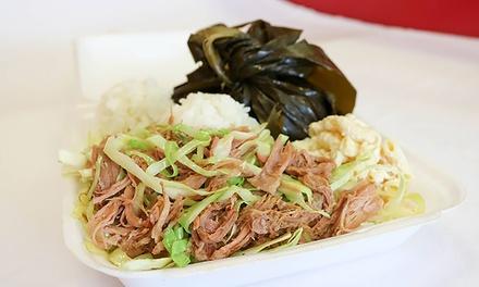L&L; Hawaiian Grill