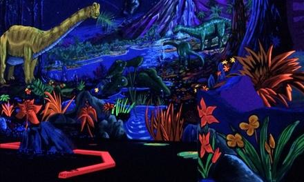D&D; Black Light Mini Golf