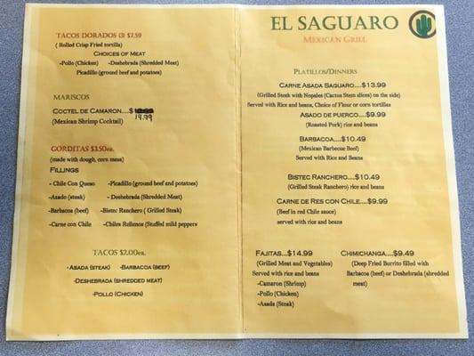 Saguaro Mexican Grill