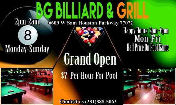 BG Billiard and Grill