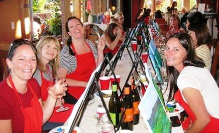 Corks and Canvas Events
