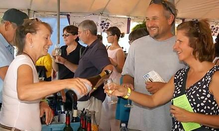 Wine Tasting Pavilion at the Swiss Wine Festival