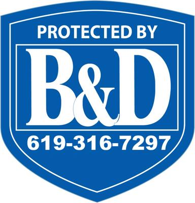 B&D; Security El Centro