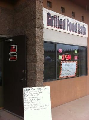 Grilled Food Cafe