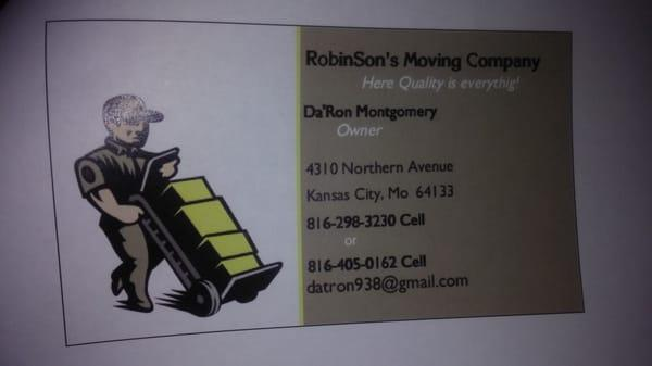RobinSon's Moving