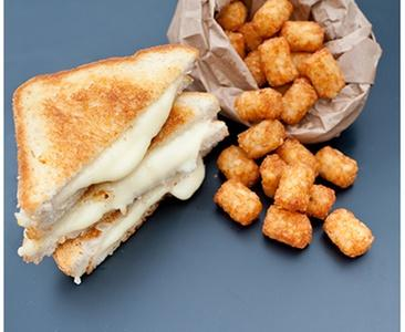 Melted Grilled Cheese