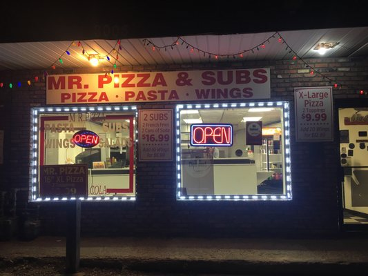 Mr Pizza And Subs