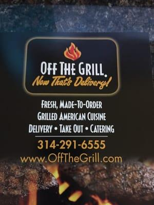Off The Grill