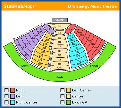 Dte Energy Music Theatre