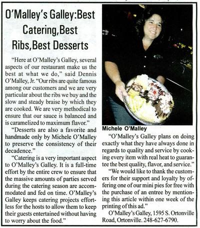O'Malley's Galley Restaurant