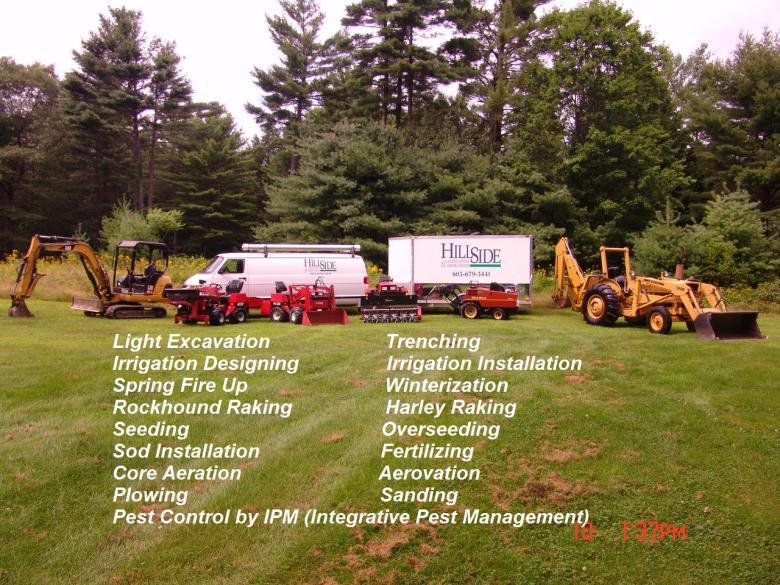 Hillside Landscaping Inc