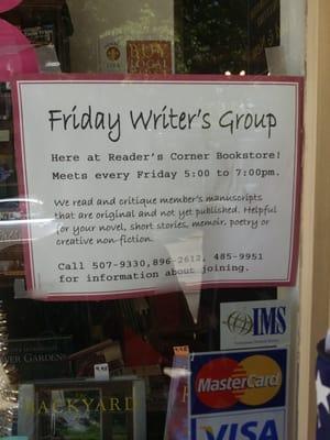 A Reader's Corner