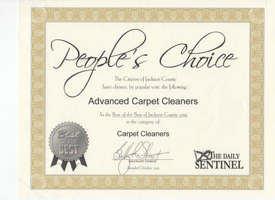 Advanced Carpet Cleaners